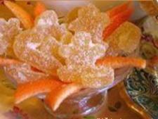 Candied Orange Rinds
