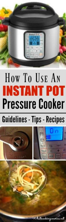 Instant Pot Tips and Recipes