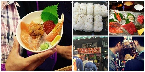 Tsukiji Sushi Breakfast