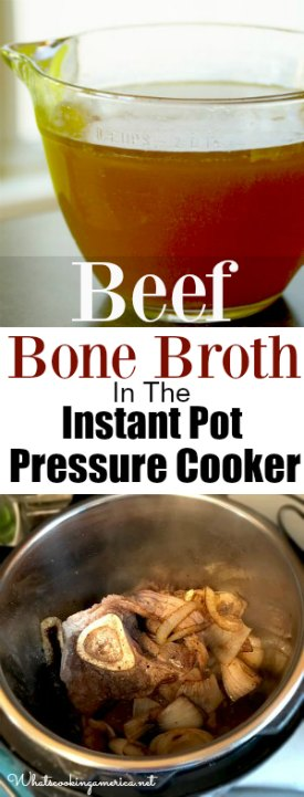 Beef Stock (Beef Bone Broth)