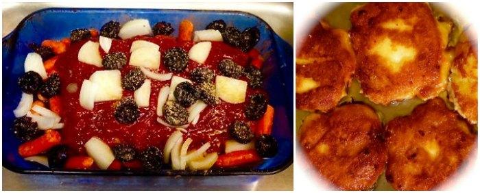 Brisket and Potato Pancakes for Passover Dinner