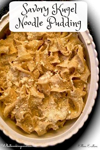 Savory Noodle Kugel Pudding