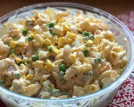 Hawaiian Potato Mac Salad
