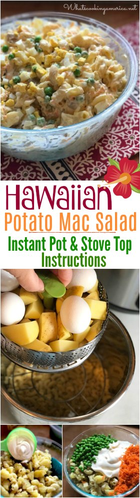 Authentic Hawaiian Potato Macaroni Salad