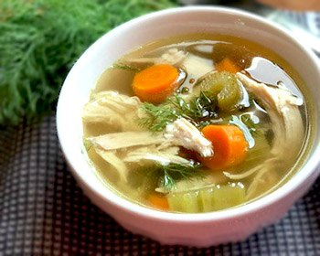 Jewish Chicken Soup-Bowl of Soup