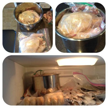 Rich Lum frozen chicken storage tip for Instant Pot