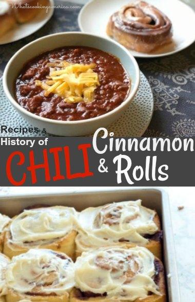 Chili and Cinnamon Rolls