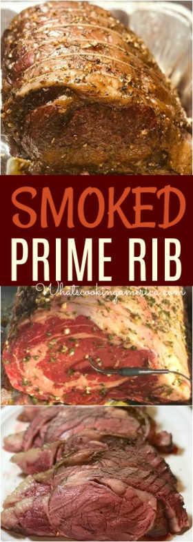 Smoked Prime Rib