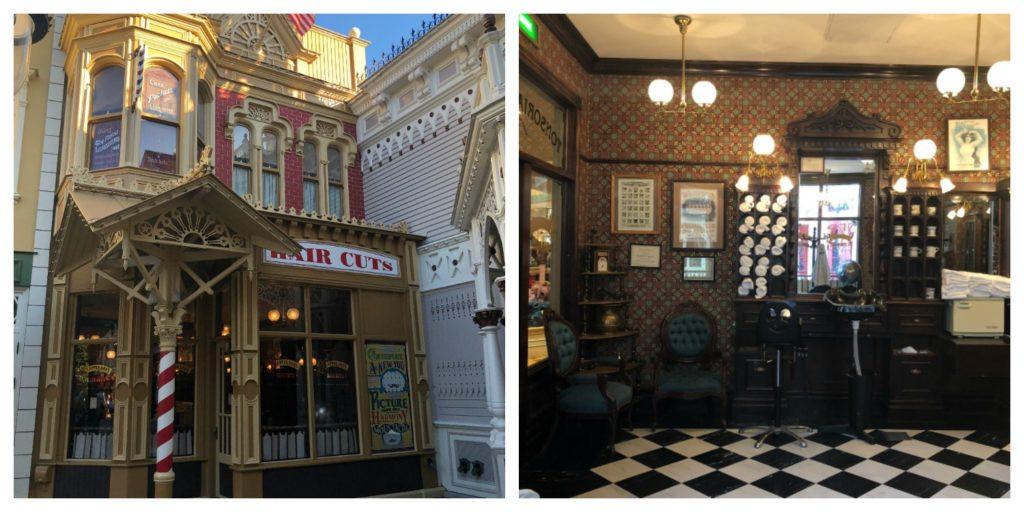 Food Travels - France Disneyland Barber Shop