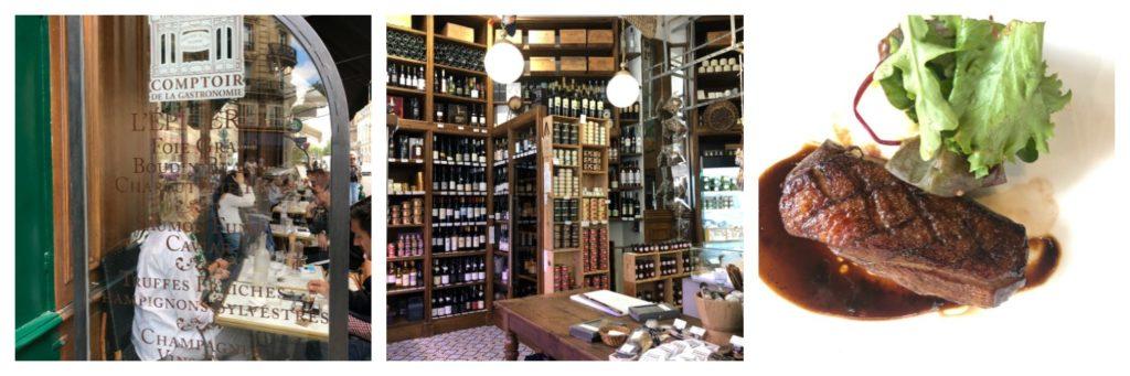 Food Travels - Paris Comptoir de la Gastronomie on Rue Montmartre