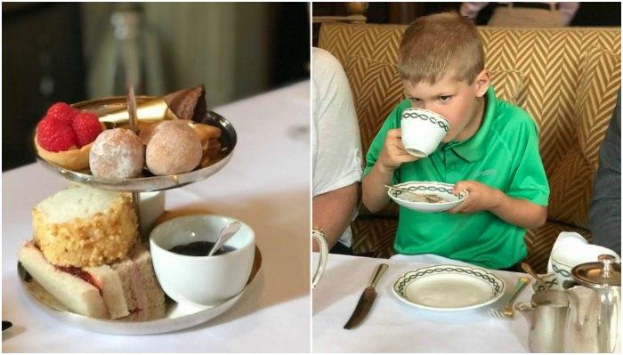Milestone Hotel Little Prince;s tea