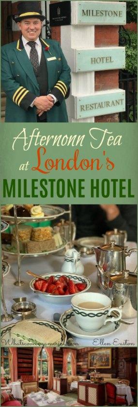 Milestone Hotel Afternoon Tea