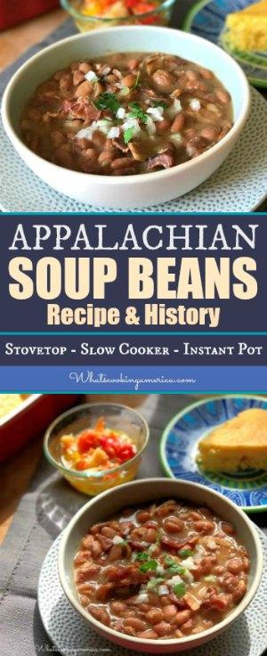 Appalachian Soup Beans - Pinto Bean Soup