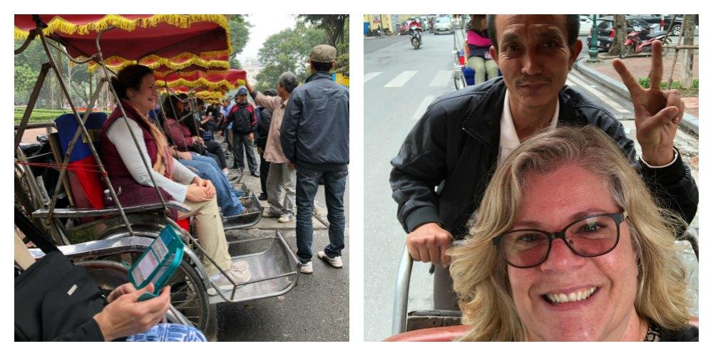 Food Travels - Vietnam Old Quarter Cyclo-Ride, 'Xich Lo'