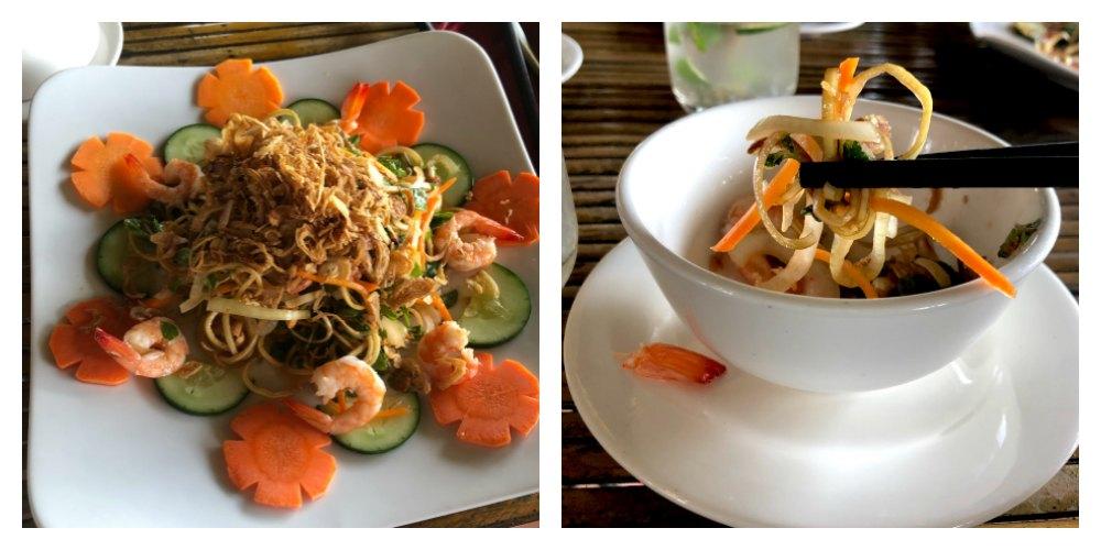 Food Travels- Vietnam Green Papaya salad